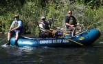 Drift raft fly fishing, April 2015